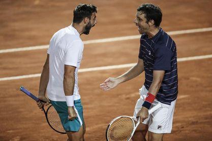 El dúo Granollers-Zeballos jugará las finales de la ATP en Londres