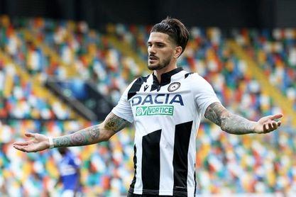 """De Paul envía """"cariño"""" a los emigrantes que apoyan a su Udinese desde Argentina"""