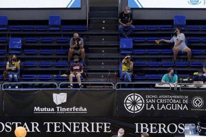 607 espectadores podrán presenciar el Iberostar Tenerife-Bakken Bears
