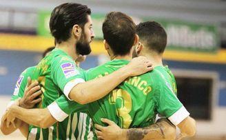 Betis Futsal 4-3 Osasuna Magna: Sella el primer triunfo en el fortín de Amate.