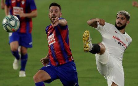 El Eibar no ha ganado nunca en el Sánchez-Pizjuán.