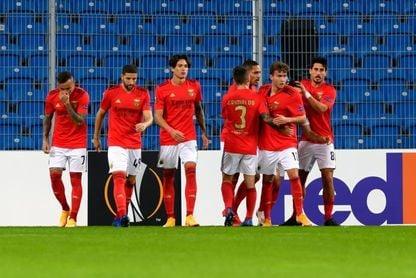 Darwin Núñez espolea al Benfica
