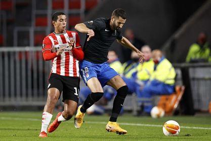 1-2. El Granada entra en Europa por la puerta grande con un golazo de Machís