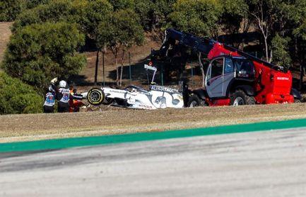Se retoma la segunda práctica en Portimao tras el incendio de coche de Gasly