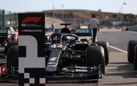 Hamilton, camino del récord
