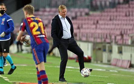 """Koeman estalla: """"¿Por qué el VAR sólo se utiliza en contra del Barcelona?"""""""