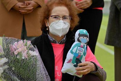 La Carrera de la Mujer de Madrid homenajea a los sanitarios
