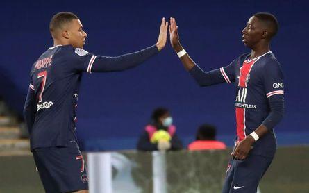 Moise Kean y Mbappe ponen líder al París Saint Germain