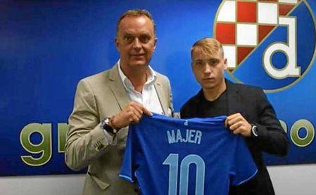 Lovro Majer, al que comparan en Croacia con Modric.