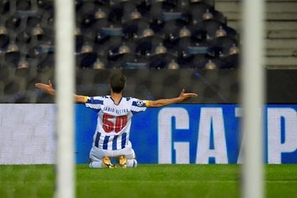 2-0. Fábio Vieira se destapa en la victoria del Oporto ante el Olympiacos