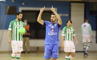 El Real Betis Futsal rompe su buena racha en Amate tras dos años.