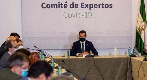 El presidente de la Junta de Andalucía, Juanma Moreno, cierra la comunidad andaluza hasta el 9 de noviembre.
