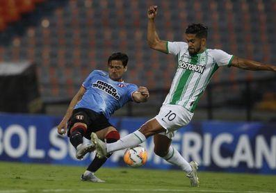 1-1. El River uruguayo aguanta el empate en la casa del Atlético Nacional