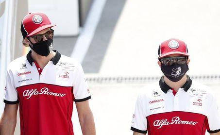 Raikkonen y Giovinazzi continuarán en Alfa Romeo en 2021