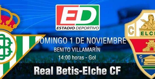 Real Betis-Elche: Obligado a espantar los fantasmas
