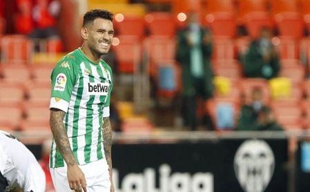 El bético Tonny Sanabria, convocado con Paraguay.