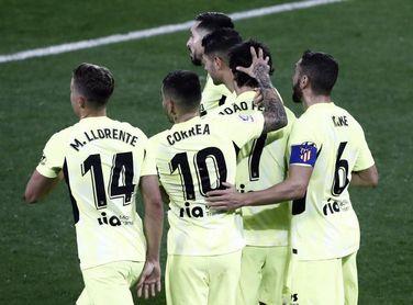El Atlético, con la mejor racha actual sin perder de todas las ligas europeas
