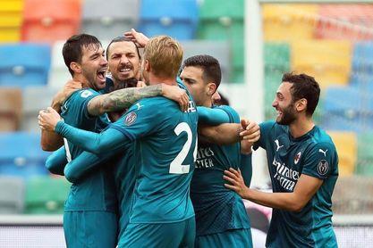 Ibrahimovic, de chilena, refuerza el liderato del Milan