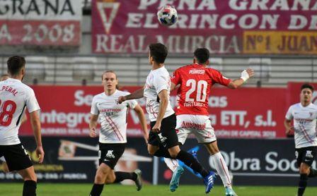 Real Murcia 1-1 Sevilla Atlético: Eliseo se trae un punto de Murcia.
