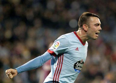 Aspas, máximo goleador del Celta en Primera División