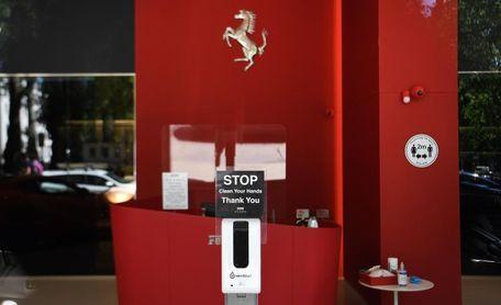 Ferrari gana 346 millones en nueve meses, un 35 % menos por la covid-19