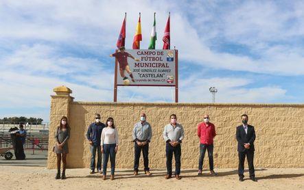 'Castelán, leyenda del Mures' ya nombra el estadio de Villamanrique