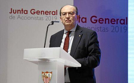 El Sevilla repartirá dividendos pese al coronavirus.