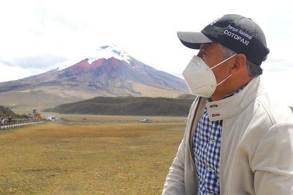 Iván Vallejo, un ecuatoriano de 8.000 metros para arriba