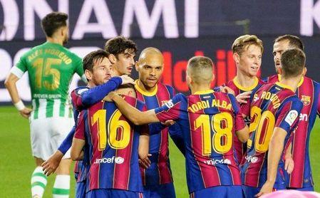 Barcelona-Betis (5-2): Incluso sin Messi, el intercambio de golpes no parecía buena idea