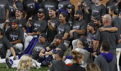 Cinco integrantes de los Dodgers dan positivo al nuevo coronavirus