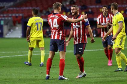 4-0. El Atlético evoluciona hacia el liderato
