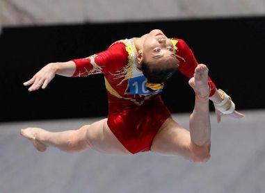 Torneo amistoso de gimnasia en Tokio para probar las medidas anti-covid