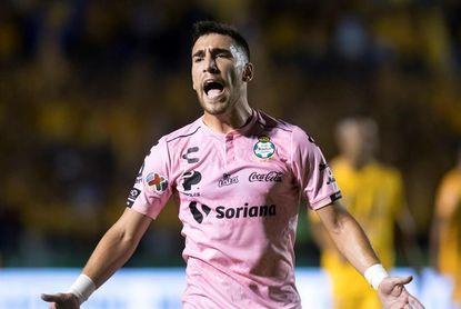 4-0. El uruguayo Gorriarán anota en la victoria del Santos Laguna ante Mazatlán