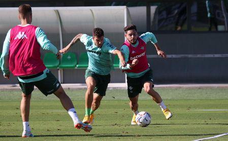 Juanmi y Dani Martín, novedades en el entrenamiento