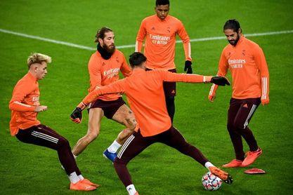 El Real Madrid regresa al trabajo pendiente de Benzema