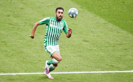 Borja Iglesias, delantero del Betis.