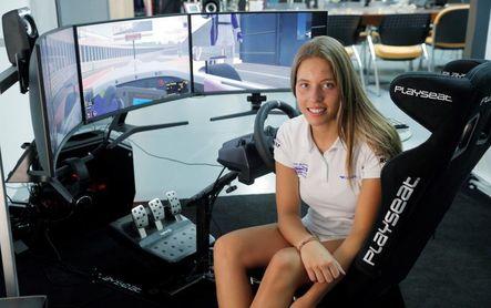 """Nerea Martí: """"Compartir paddock con los equipos de la F1 es todo un sueño"""""""