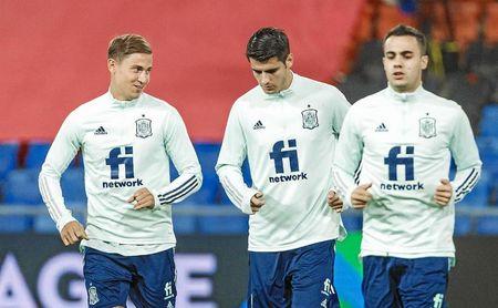 """Morata:""""Si no es la primera vez que juego 9 partidos seguidos, es la segunda""""."""