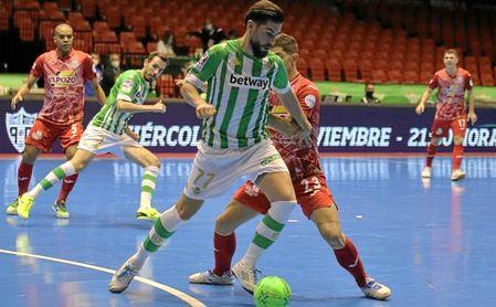 Derrota del Betis Futsal ante ElPozo Murcia en San Pablo.