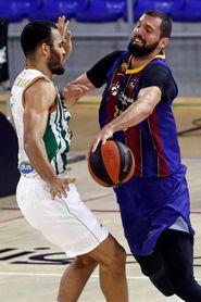 82-53. El Barça vence por inercia