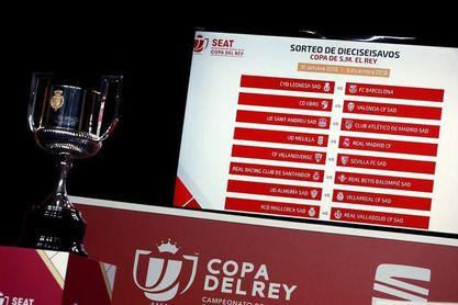 Así será el sorteo de Copa del Rey: posibles rivales de Sevilla FC, Betis y Tomares