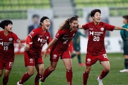 Eli del Estal brilla en la final y gana la primera liga surcoreana con Incheon
