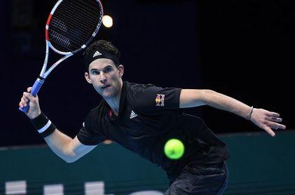 Thiem, primer semifinalista de las Finales ATP