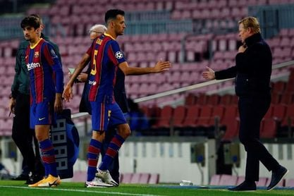El Barça confirma la baja de Sergio Busquets para enfrentarse al Atlético