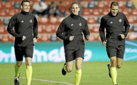 Alberola Rojas dirigirá el Athletic-Betis.