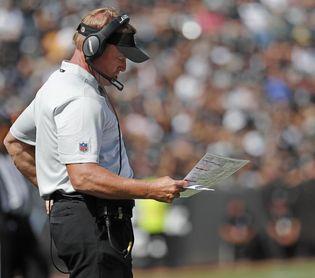 Los Raiders mandan a otros siete jugadores a la lista de la COVID-19
