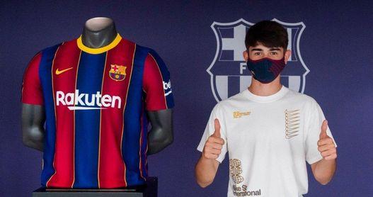 Gavi, la joven perla del Barça que el Betis intentó repatriar