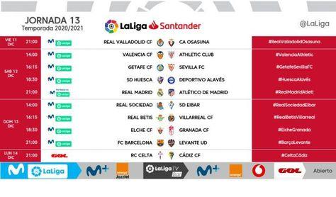 Ya se conocen todos los horarios en LaLiga de Sevilla FC y Betis hasta Navidad
