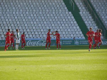 Córdoba 1-2 Sevilla Atlético: La primera victoria, por la puerta grande.