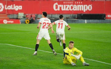 Munir puso el tranquilizador 4-2 cerca del final del partido.